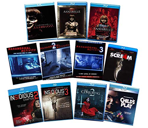 Sale price Ultimate Horror Collection Long-awaited - Chapte Insidious Trilogy Annabelle