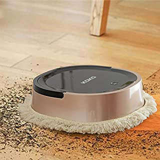 KOKO Robot Vacuum Cleaner Dry Sweeping and Wet Mopping for Wood Floor Automatically Sweeping Scrubbing Mopping Floor Cleaning Robot (Gold)