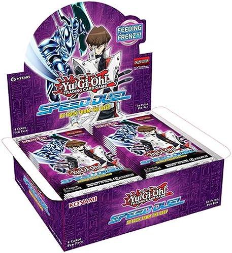 ventas de salida Yu-Gi-Oh  KONAFTD KONAFTD KONAFTD Speed Duel-Attack from The Deep Booster - Caja expositora de 36 Paquetes  comprar descuentos