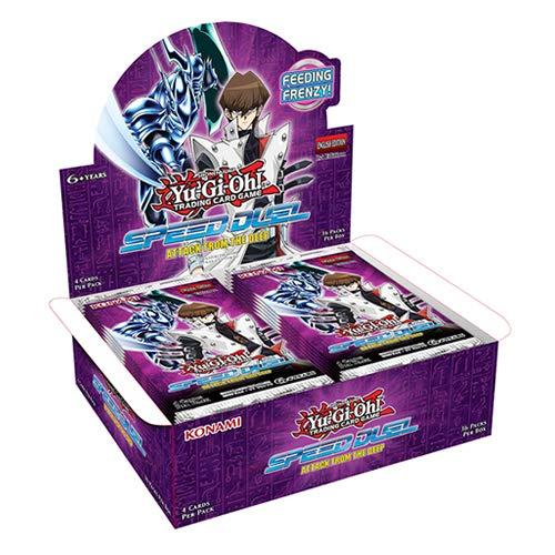 Yu-Gi-Oh! KONAFTD Speed Duel-Attack de The Deep Booster Display Box de 36 Paquetes