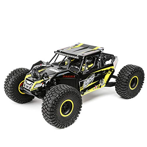 Losi 1/10 2.2 Rock Rey 4WD RC Rock Racer Brushless RTR with AVC and 2800Kv Brushless Power System (Battery and Charger Not Included): LOS03009T1, Yellow, 1:10 Scale