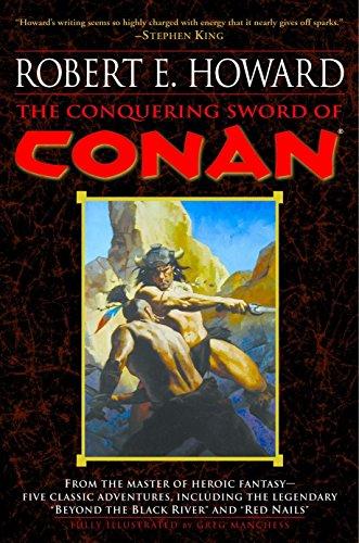 The Conquering Sword of Conan (Conan of Cimmeri... 0345461533 Book Cover