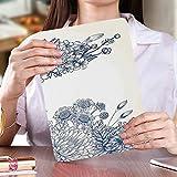 に適応 AMAZON 2018 Kindle Paperwhite第十世代カバー ケース 芸術的な花のブーケコサージュカーネーション鎮静ブライダル結婚式記念日のテーマ オートスリープ機能付き 保護カバー 全面保護ケース