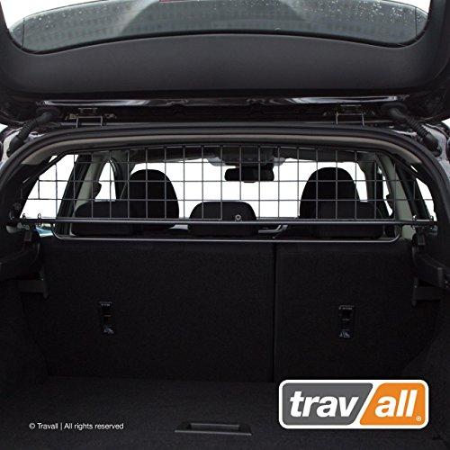 Travall Guard Hundegitter Kompatibel Mit Nissan Qashqai (Ab 2013) Rogue Sport (Ab 2017) TDG1537 - Maßgeschneidertes Trenngitter in Original Qualität