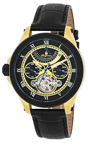 Burgmeister reloj caballero automático Colorado Springs, BM350-622, reloj zurdo
