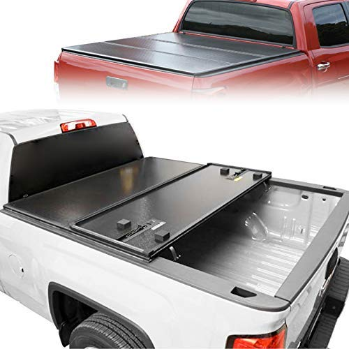 Rugged Cover Hard Tri Fold Tonneau Cover 5 For 16 19 Toyota Hilux Buy Online In Macedonia At Desertcart