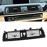 FEXON Front Air Grille AC Vent Replacement for BMW 5 Series Interior Central Air Vent Dashboard Console Center AC Ventilation 520 523 525 528 530 535 550 F10 F18 2010-2016