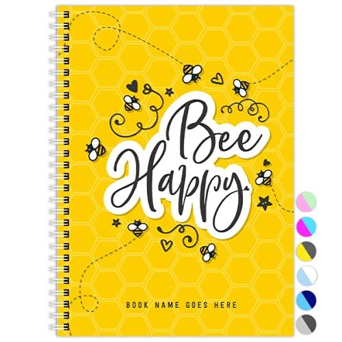 My Teacher Planner, 42 weken, Week-to-View, Undated, Kleurrijk, A5, Academisch dagboek, Planner, Journal (Bee Happy)
