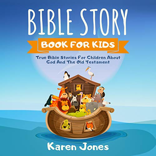 Bible Story Book for Kids audiobook cover art
