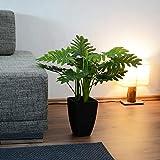 INtrenDU Künstliche Dekopflanze Palme Kunstpflanzen im Topf Kunstblumen Fensterdeko künstliche Pflanze (Variante 3) - 3