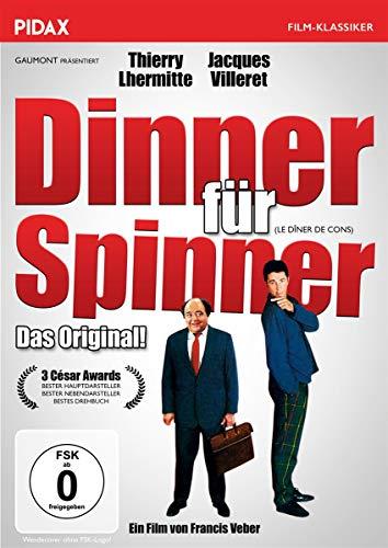 Dinner für Spinner (Le Dîner de cons) / Die originale französische Komödie mit Starbesetzung (Pidax Film-Klassiker)