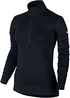 nike women's pro warm half-zip training pullover