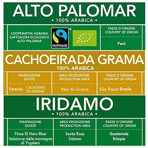 ESE Kaffeepads Test 100{1e8413d59e336d20c58901c6815dd6b1b55b34ae8b108ca6f9c66a0292485829} Arabica Gemischte Packung: Brasilien, Peru, Äthiopien und Guatemala| 12 x 44mm