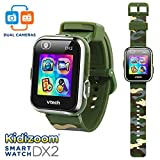 VTech KidiZoom Smartwatch DX2 Camouflage (Amazon Exclusive), Great Gift For Kids, Toddlers, Toy for Boys and Girls, Ages 4, 5, 6, 7, 8, 9