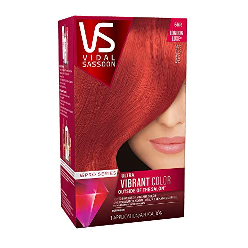 Vidal Sassoon Pro Series, 6RR Runway Red, 1 Count
