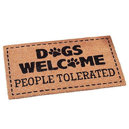Collections Etc Dogs Welcome People Tolerated Funny Front...
