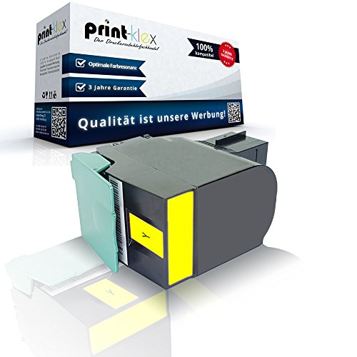 Kompatible Tonerkartusche Yellow für Lexmark C540N C543DN C544DN C544DTN C544DW C544N C544Series C546DTN 0C540A1YG 0C540H1YG - Premium Pro Serie