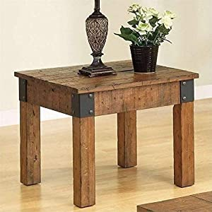 Country Style End Table By Coaster Furniture Cart Coffee Table Furniturejksii9