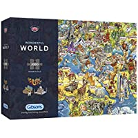 Puzzle: 2000 Wonderful World Jigsaw Puzzles
