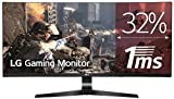 LG 34UC79G Monitor da Gaming 34', Curvo, 21:9 UltraWide LED IPS, 2560x1080, 1ms, 144Hz, AMD FreeSync, Multitasking, Regolazione Altezza