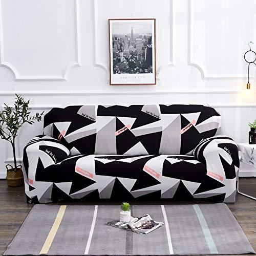 PPOS Juego de Fundas elásticas para sofá para Sala de Estar, sofá, Toalla, Fundas de sofá Antideslizantes para Mascotas, Funda de sofá elástica A15, 3 Asientos, 190-230cm-1pc