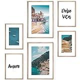 Bold Design Poster Set Amalfi Coast - 4 x DIN A4 & 2 x DIN