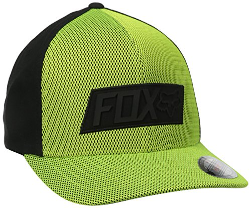 Casquette Flexfit Fox Slow Focus Flo Jaune (L/Xl , Jaune)