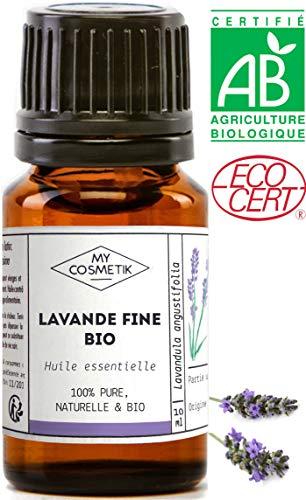 Huile essentielle de Lavande Fine BIO - MyCosmetik - 10 ml