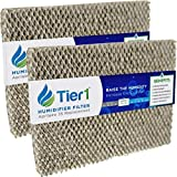 Tier1 Humidifier Filter Replacement for Aprilaire Water Panel 35 Models 350, 360, 560, 560A, 568, 600 - Improves Air Quality in Homes and Offices - 2 Pack
