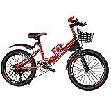CHHD Bicicleta de montaña de 18 Pulgadas (20 pulgadas/22 Pulgadas) para Deportes al Aire Libre, Altura del Asiento Ajustable, Adecuada para niños y Adultos Mayores de 10 años