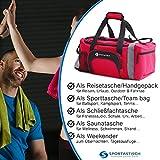 """VERGLEICHSSIEGER: Premium Sporttasche """"Sporty Bag"""" von Sportastisch :: Farbe: ROT :: mit Schuhfach, Tragegurt und Trinkflaschen-Halter :: hochwertiges Nylon garantiert beste Atmungsfähigkeit :: Exklusives Design für Damen, Herren und Kinder:: extra groß mit 35L Fassungsvermögen :: lange Lebensdauer dank hochwertiger Verarbeitung :: Ideal als Sporttasche, Fitnesstasche und Reisetasche :: 3 Jahre Premium Sportastisch Garantie - 5"""