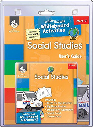 Interactive Whiteboard Activities: Social Studies (English Edition)