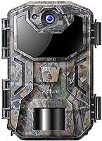 Victure Cámara de Caza Vigilancia 20MP 1080P con Diseño Impermeable IP66 Cámara de Fototrampeo con Detección de Acción...