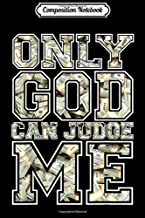 Composition Notebook: Only god can judge me 100 dollar stacks hustle hard Journal/Notebook Blank Lined Ruled 6x9 100 Pages