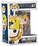 HARRY POTTER Figura de Vinilo Luna Lovegood with Lion Head, Multicolor (Funko 14944)...