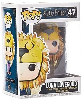 Funko Pop Movies  Harry Potter-Luna Lovegood w/ Lion Head Collectible Figure