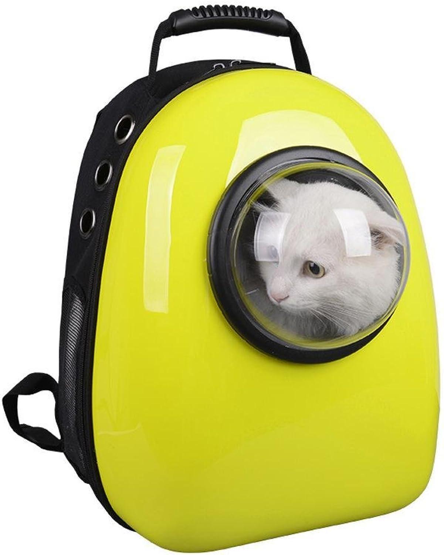 Dixinla Pet Carrier Backpack Pet bag Space Cabin breathable pet bag cat bag pet out goods backpack 42  32  24cm Food pc+ Oxford Cloth