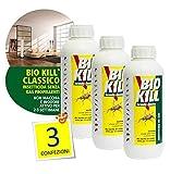 Insecticida Bio Kill, 1 litro, 3 unidades