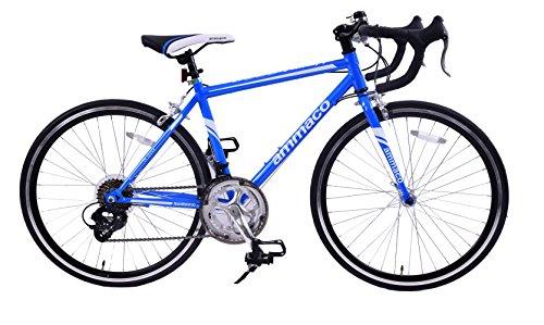 Road Bikes Ammaco VELOCITY JUNIOR 14 SPEED RACING ROAD SPORTS BIKE 24″ WHEEL BLUE AGE 9+ [tag]