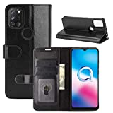 ROVLAK Case for Alcatel 3X 2020 Wallet Flip Cover with Card