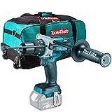 Makita DHP481Z 18v LXT - Punta combinata senza spazzole con 66 cm, colore: Blu