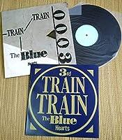 ザブルーハーツ The Blue Hearts TRAIN TRAIN 限定 LPレコード MEJR-2006 リンダリンダ パンク