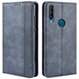 HualuBro Alcatel 3X 2019 Case, Retro PU Leather Full Body