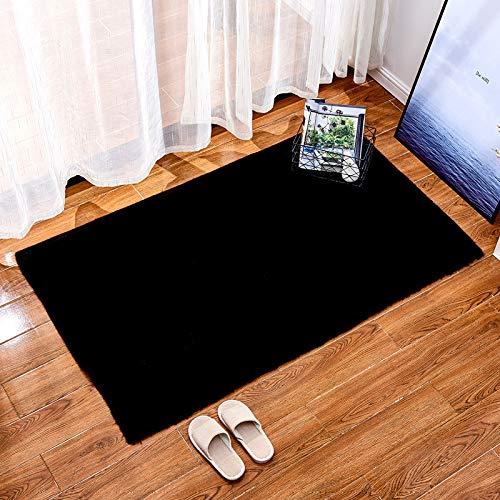DJUX Alfombras Ultra Suaves Interiores Modernas para Interiores Alfombras de Sala de Estar mullidas Adecuado para niños Dormitorio Decoración para el hogar Alfombras de guardería,60x120cm