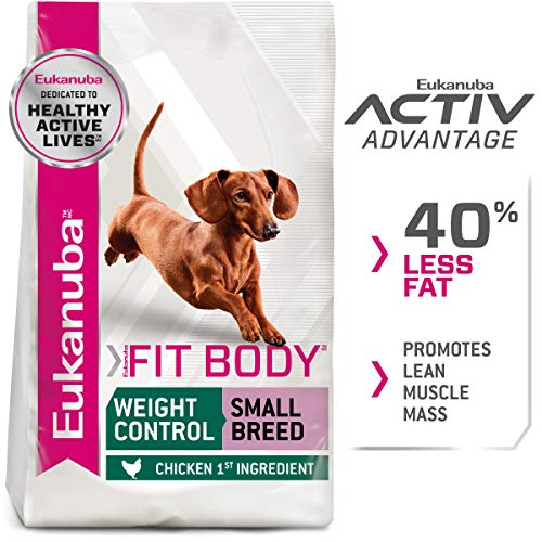Eukanuba Fit Body Weight Control Small Breed...