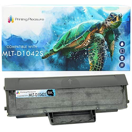 Toner Compatibile MLT-D1042S Cartuccia Laser per Samsung ML-1660, ML-1665, ML-1670, ML-1675, ML-1860, ML-1865, ML-1865W, SCX-3200, SCX-3201, SCX-3205, SCX-3205W, ML-1661, ML-1666 - Nero, Alta Resa