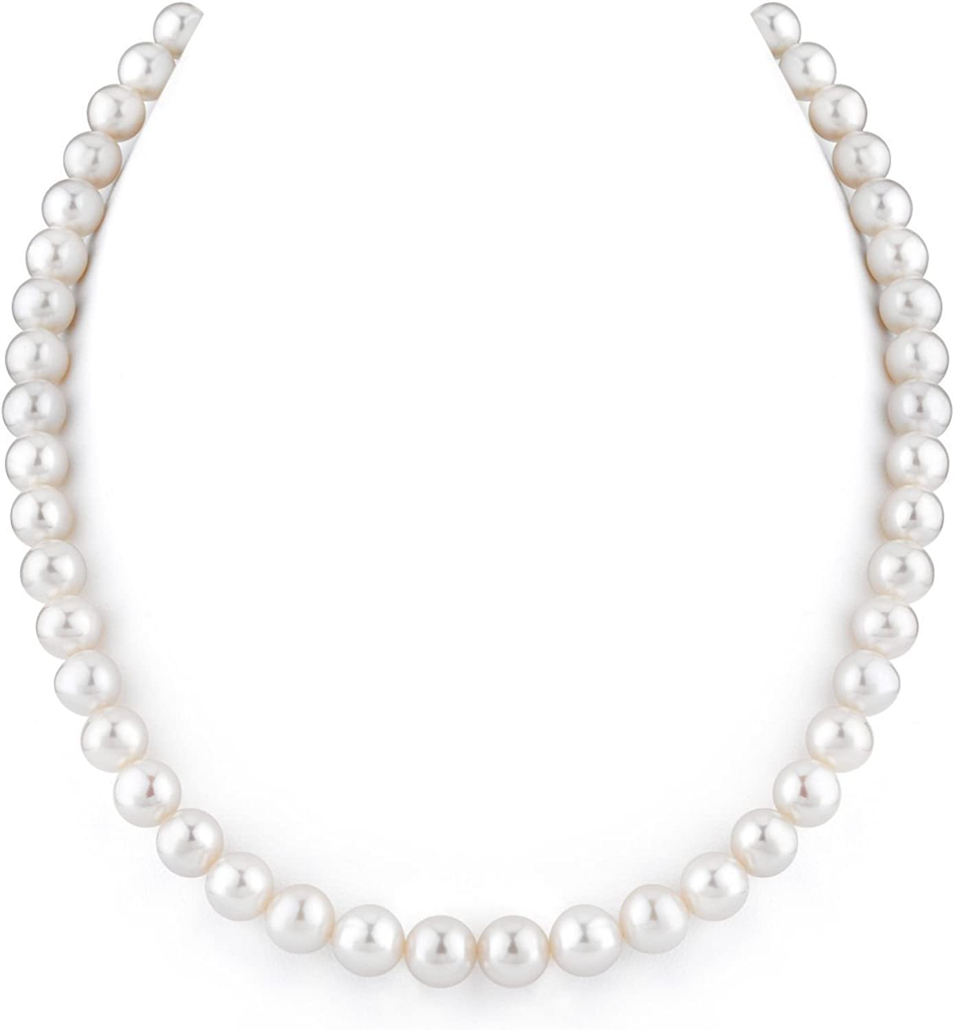 Dedication THE PEARL SOURCE 14K Gold 8-9mm National products Quality Freshwater White AAAA Cu