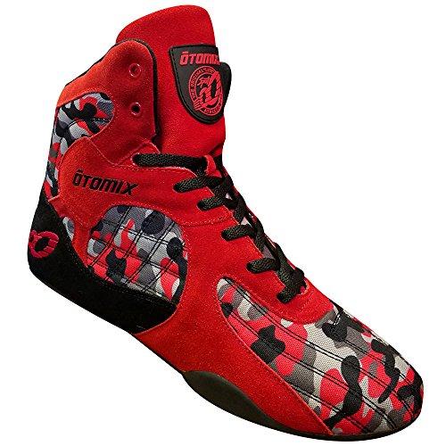 Otomix STINGRAY ESCAPE Fitness Bodybuilding Schuhe - Red Camo / Rot (47 EU)