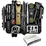 Gifts for Men Dad Husband Boyfriend Fathers Day, Survival Gear and Equipment 13 in 1 Emergency Survival Tools Camping Accessories, Christmas Birthday Gifts Ideas for Camping Fishing Hunting Hiking