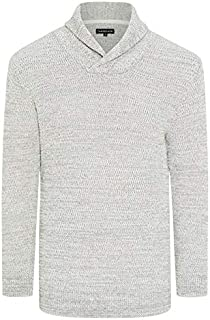 Tarocash Men's Colby Shawl Collar Knit Fit Sizes XS-5XL for Going Out Smart Casual